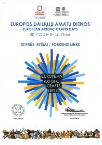 Europos dailiųjų amatų dienos 2017